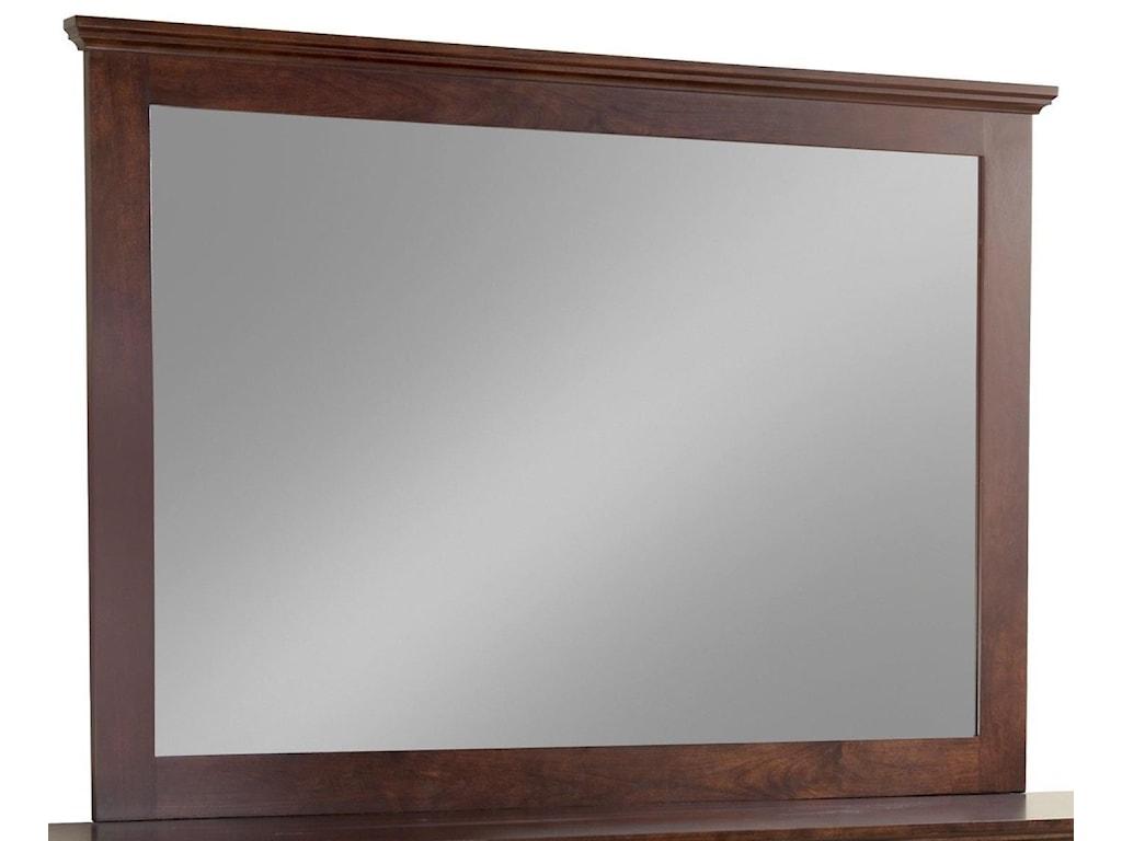 Daniel's Amish EleganceTall Wide Mirror