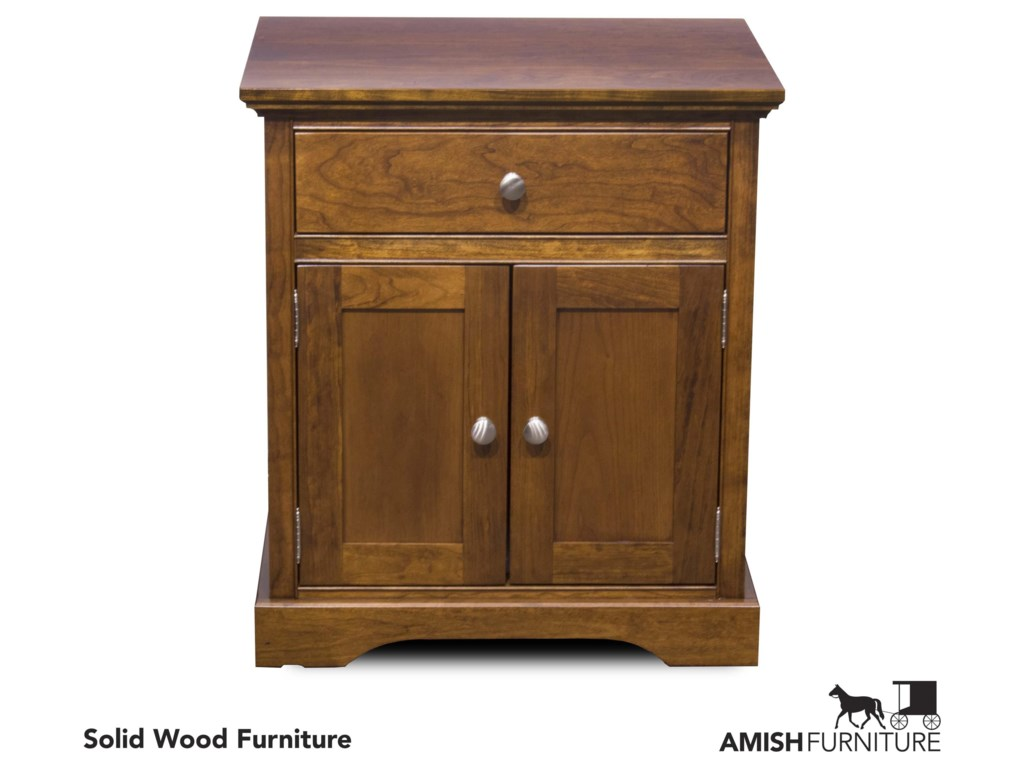 Daniel's Amish Elegance2 Door Night Stand