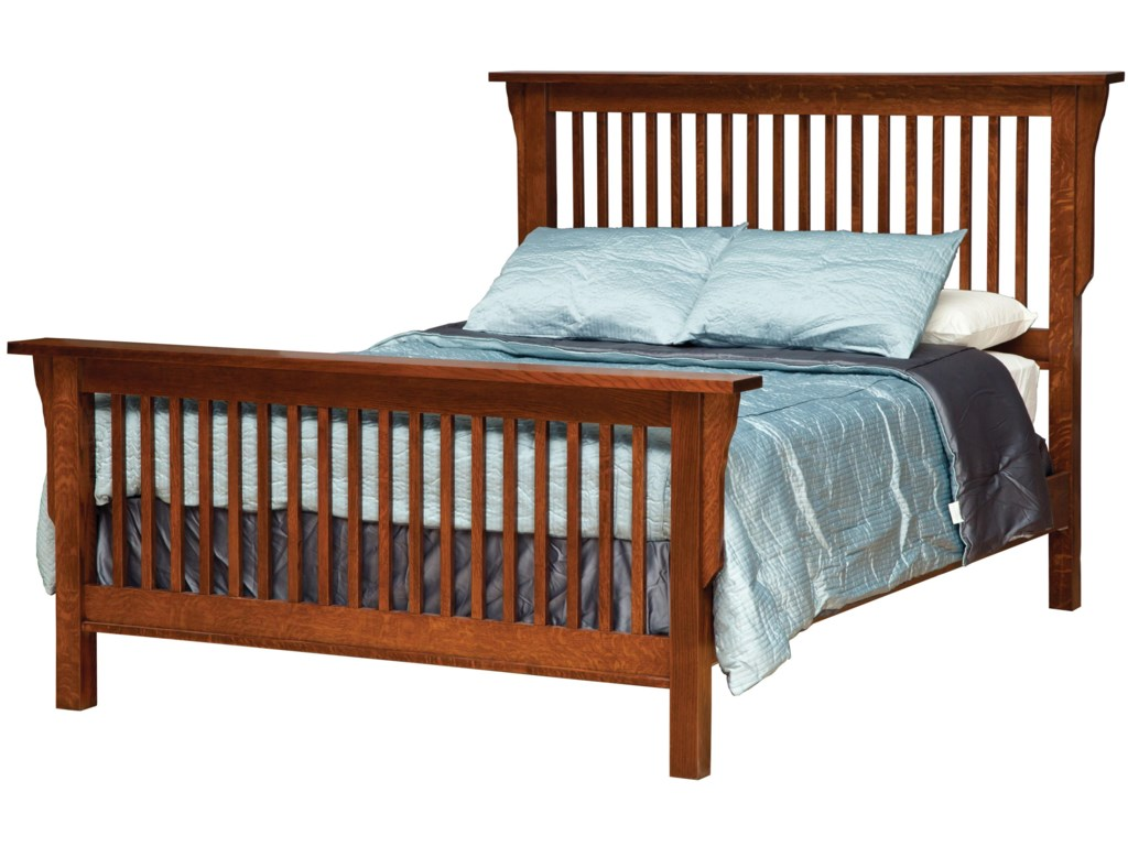 Daniel's Amish MissionKing Frame Bed