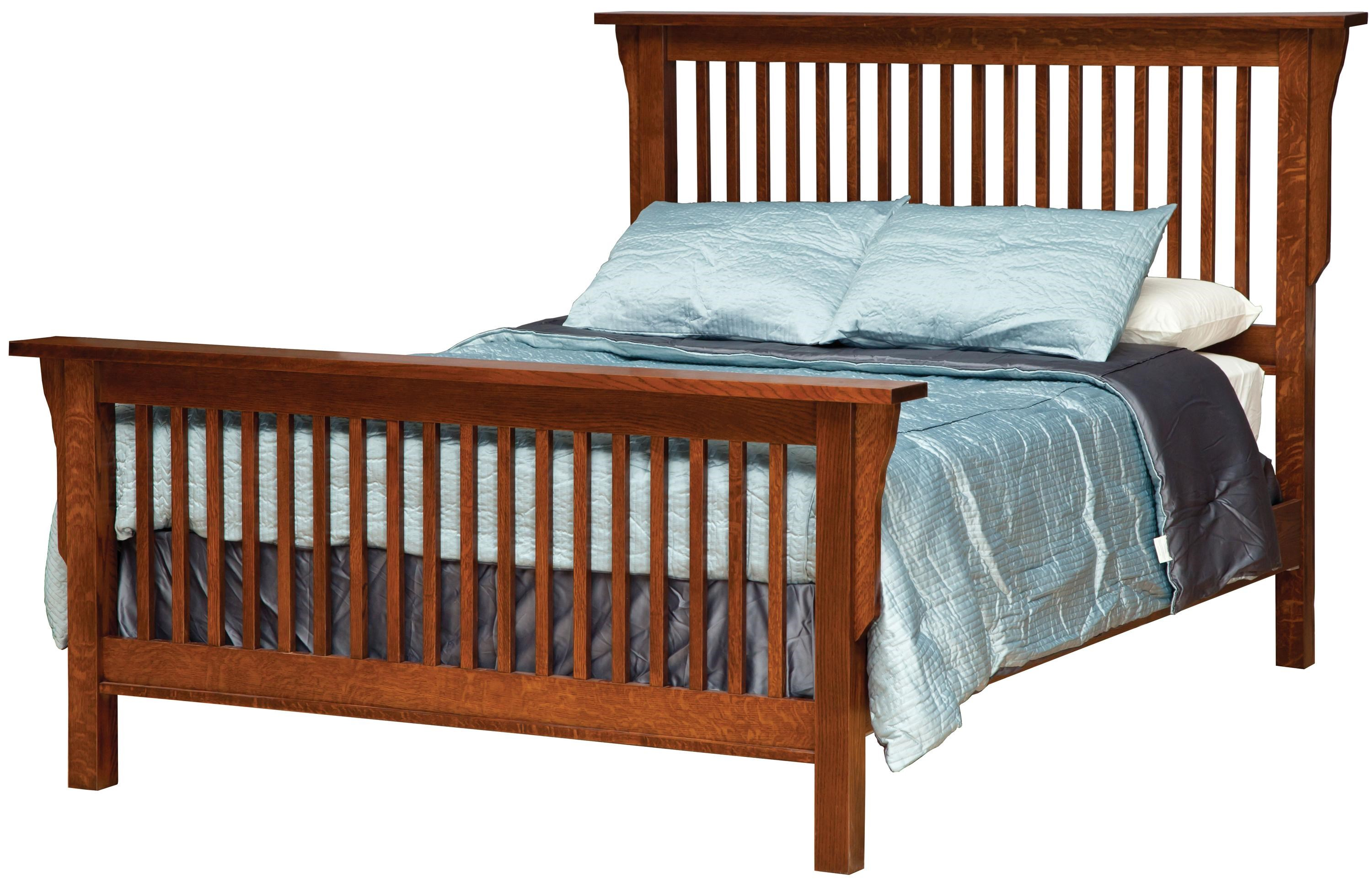 Children furniture house bed frame in FULL size or QUEEN with Headboard and SLATS