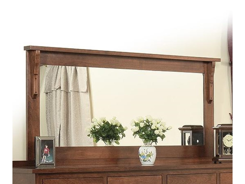 Daniel's Amish Mission58 x 28 Mirror