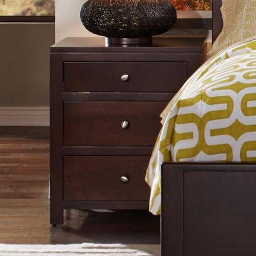 Daniel's Amish Modern Three Drawer Night Stand