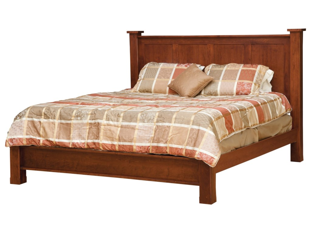 Daniel's Amish TreasureTwin Bed with Low Footboard