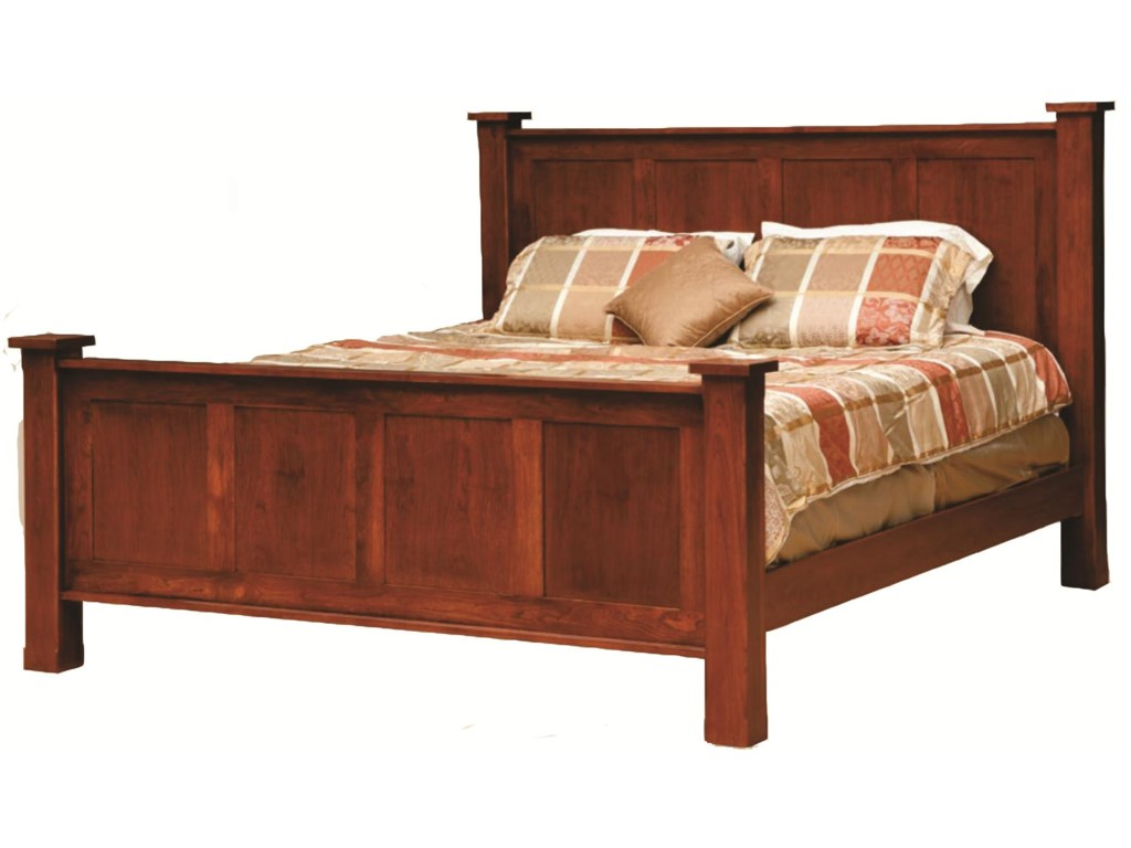 Daniel's Amish TreasureKing Frame Bed