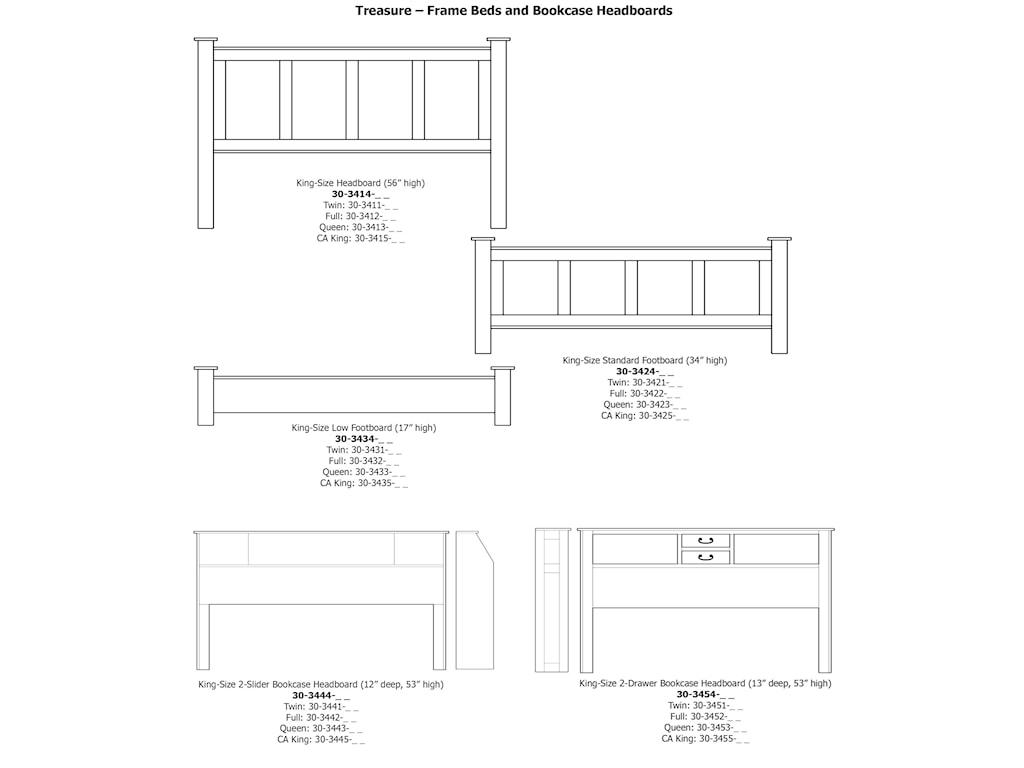 Daniel's Amish TreasureKing Pedestal Footboard Storage Bed