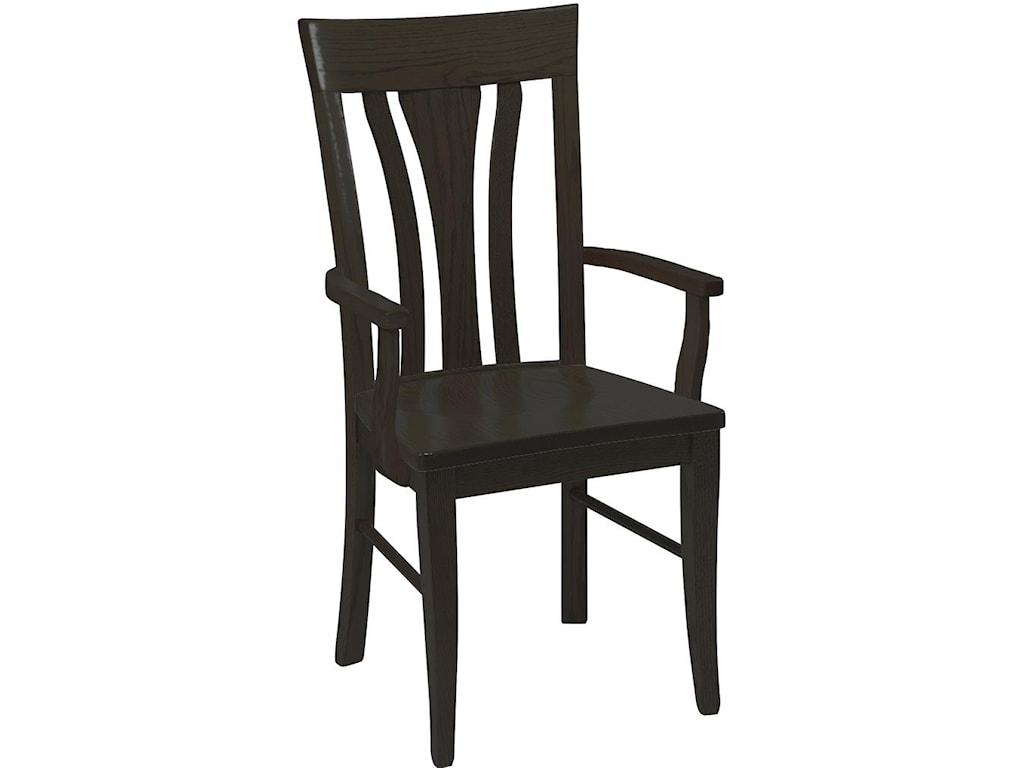 Daniel's Amish Chairs and BarstoolsTulip Arm Chair