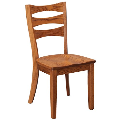 Daniel's Amish Chairs and Barstools Sierra Dining Side Chair
