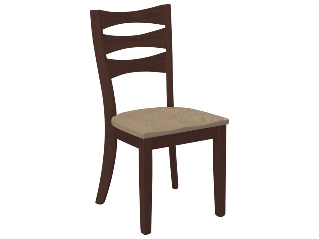 Daniel's Amish Chairs and BarstoolsSierra Counter Height Bar Side Chair