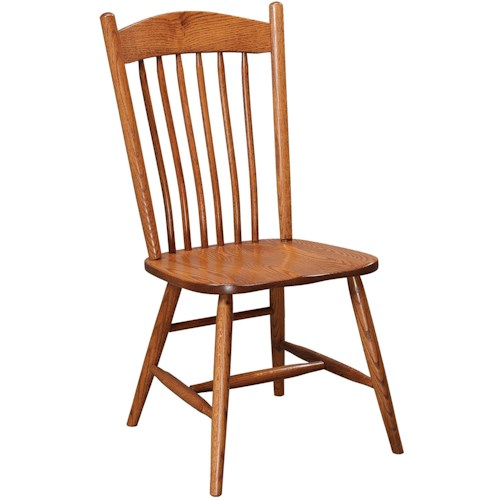 Daniel's Amish Chairs and Barstools Springfield Dining Side Chair