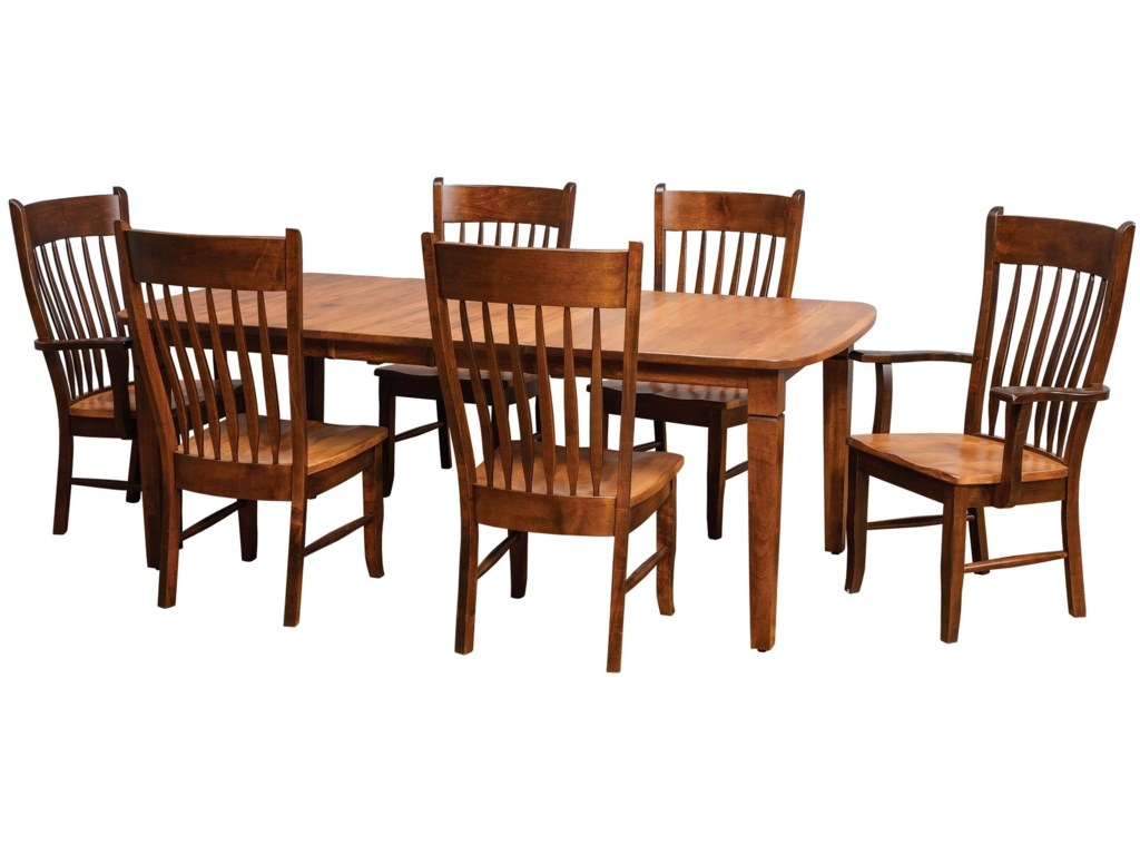 Daniel's Amish Chairs and BarstoolsBuckeye Side Chair