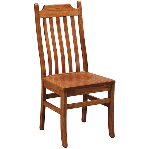 Daniel's Amish Chairs and Barstools Mt. Vernon Dining Side Chair