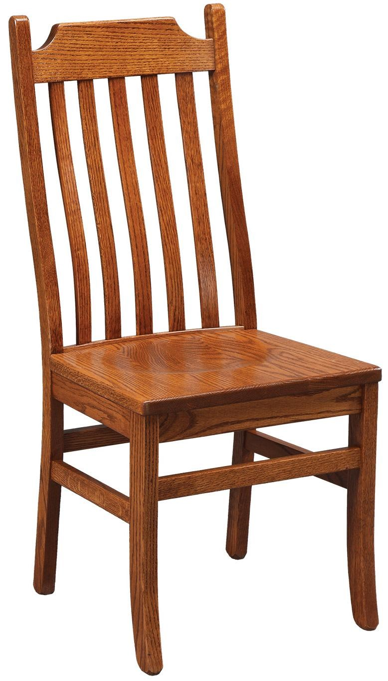 Danielu0027s Amish Chairs And Barstools Mt. Vernon Dining Side Chair