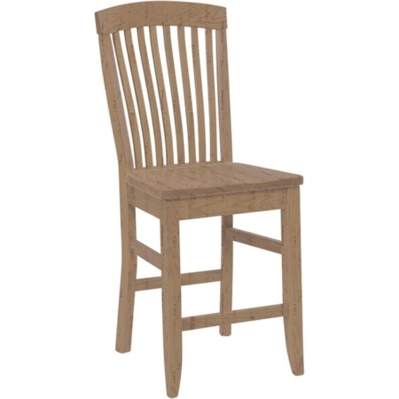 Empire Stationary Counter Chair