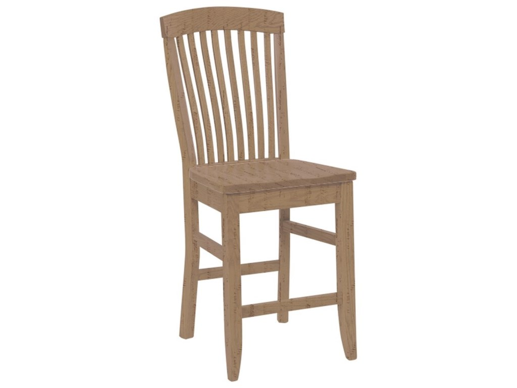 Daniel's Amish Chairs and BarstoolsEmpire Stationary Counter Chair