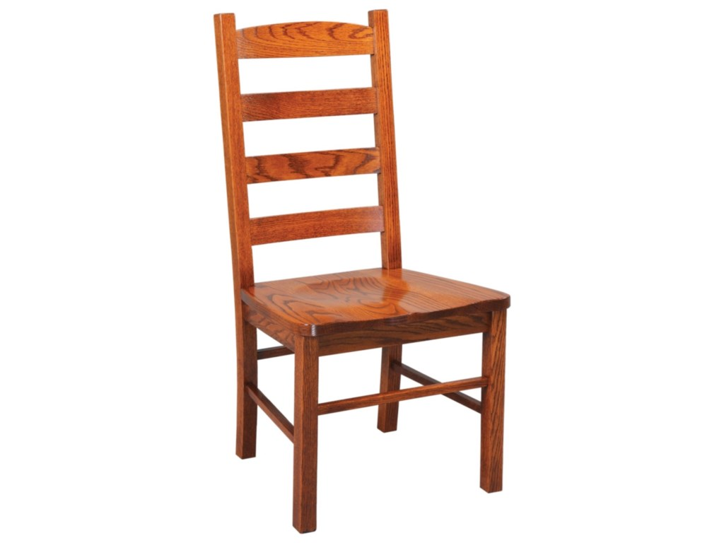 Daniel's Amish Chairs and BarstoolsLadder Back Side Chair