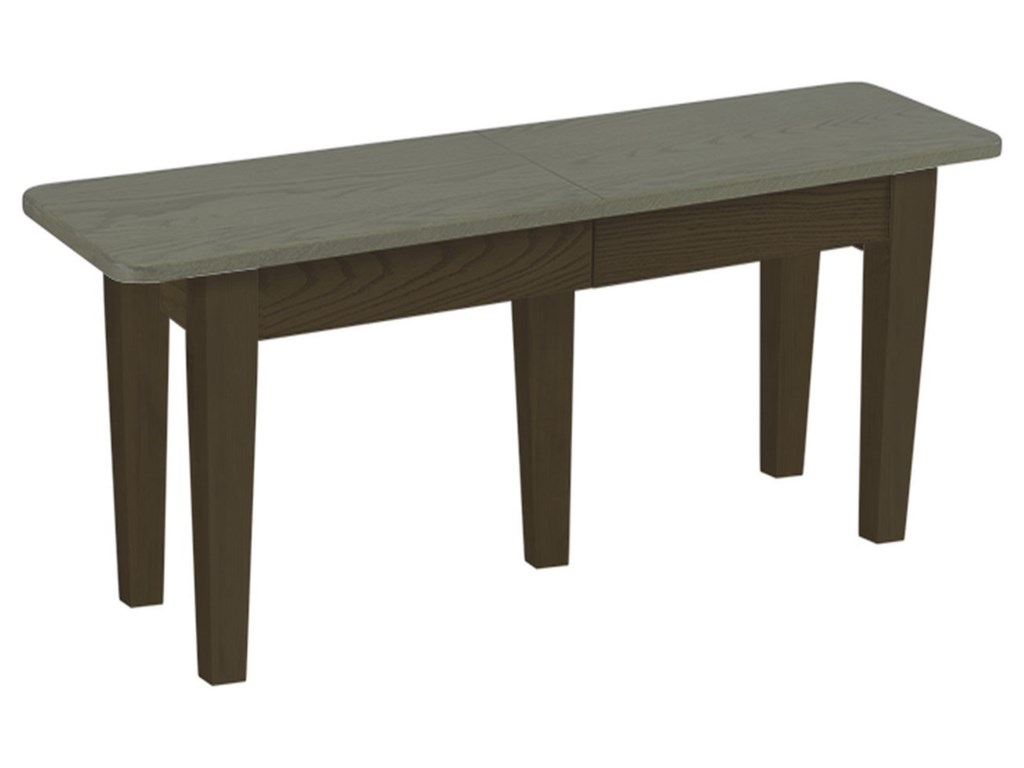 Daniel's Amish Chairs and BarstoolsExtendable Dining Bench