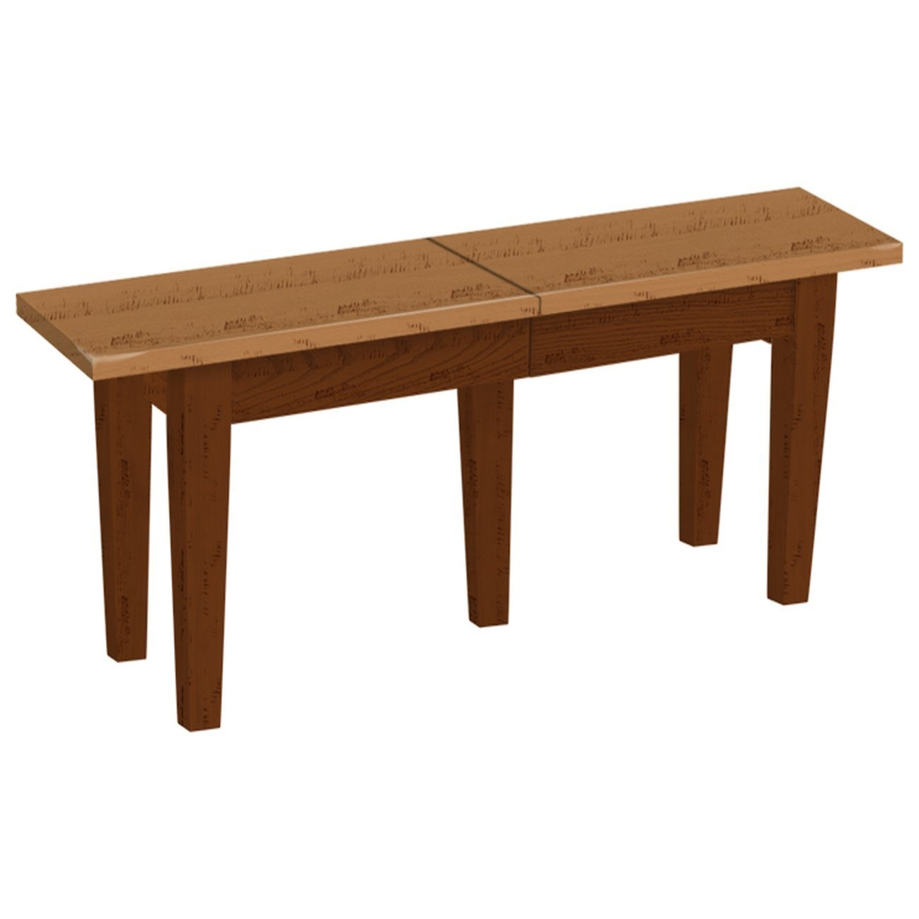 Danielu0027s Amish Chairs And BarstoolsExtendable Dining Bench
