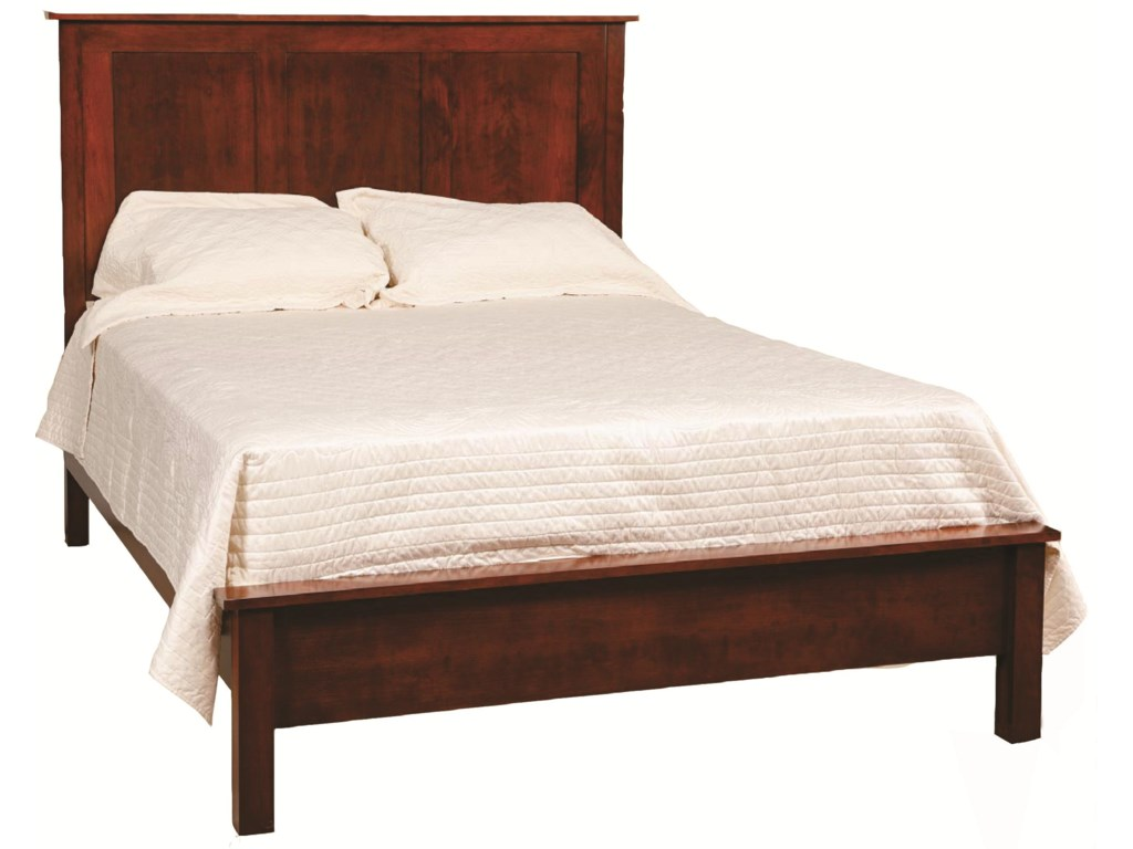Daniel's Amish Concord Queen Frame Bed