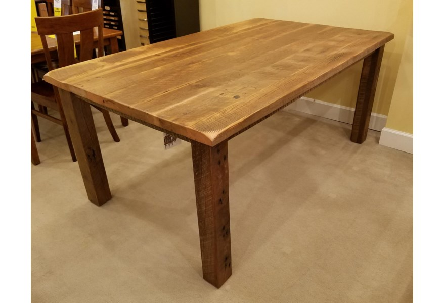 Amish Reclaimed Barnwood Dining Table