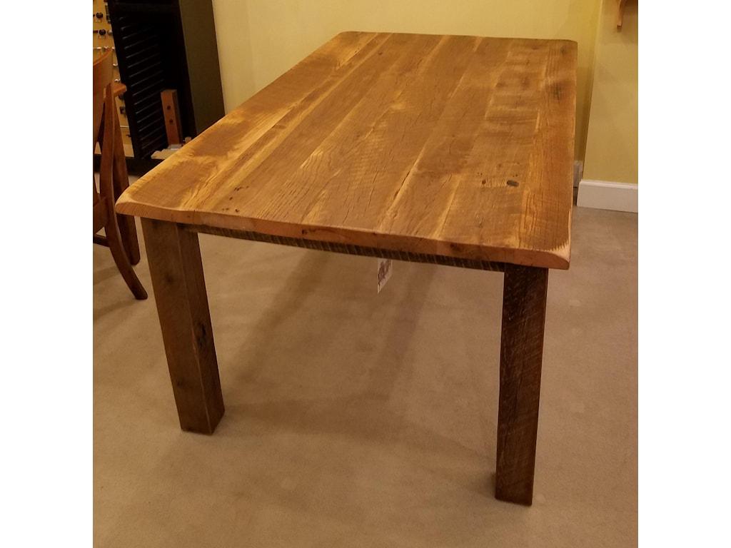 Daniel's Amish Reclaimed BarnwoodReclaimed Barnwood Dining Table