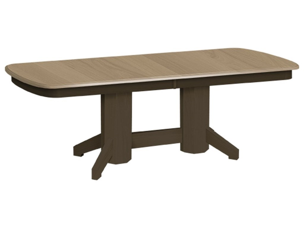 Daniel's Amish Double Pedestal TablesDouble Pedestal Table