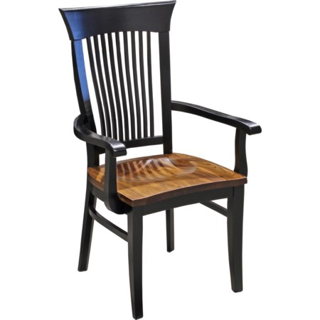 Amish Dining Arm Chair