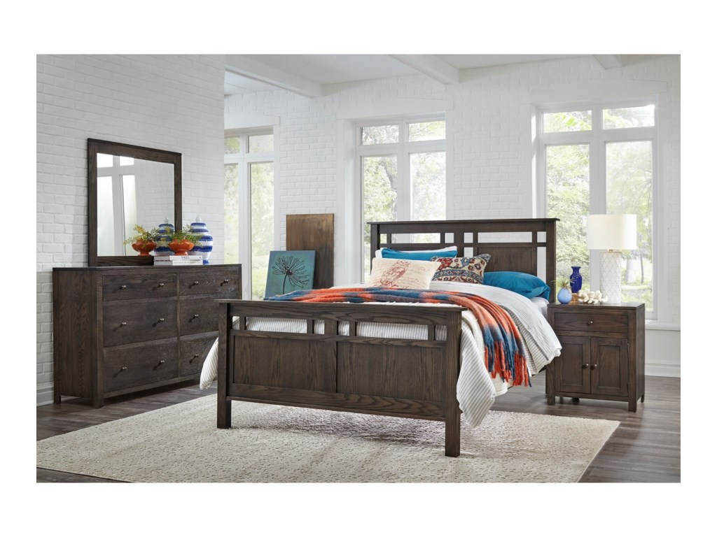 Daniel's Amish HeartlandFull Panel Bed