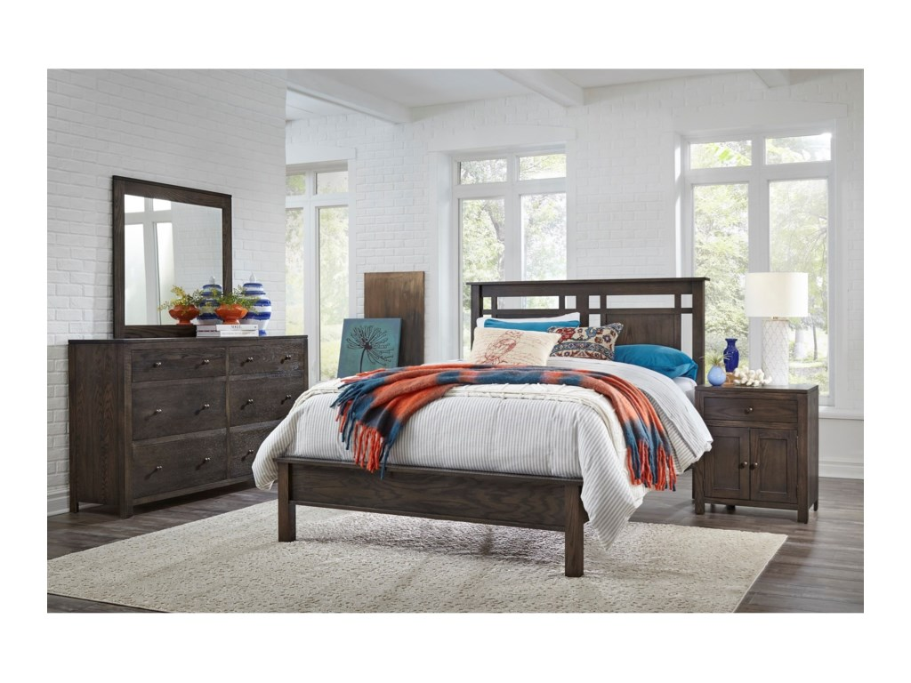 Daniel's Amish HeartlandKing Low Profile Bed