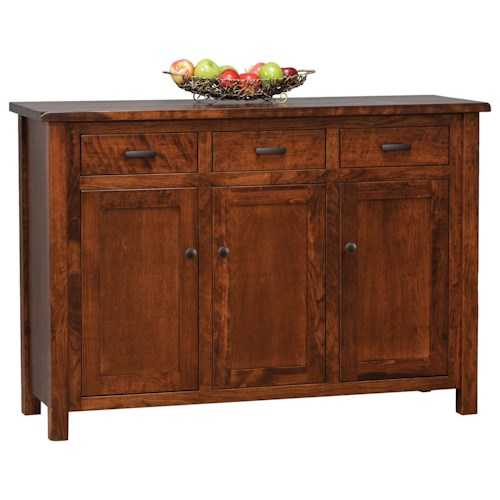 Absolutely Amish Buffets ~ Daniel s amish hutch and buffets westchester drawer