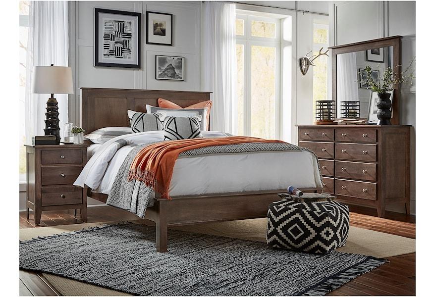 Daniel S Amish Mapleton 35 5038 39 5052 8 Drawer Dresser Mirror Set Gill Brothers Furniture Dresser Mirror Sets
