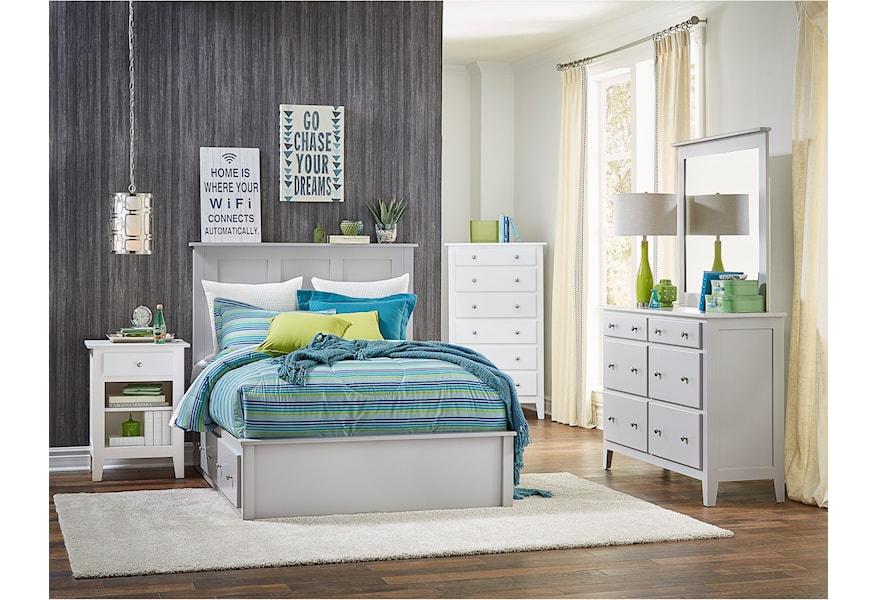 Daniel S Amish Mapleton 6 Drawer Double Dresser Prime Brothers Furniture Dressers