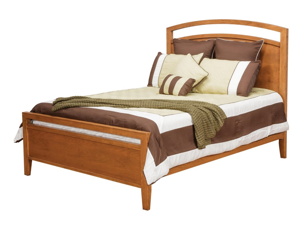 Daniel's Amish NouveauQueen Nouveau Bed