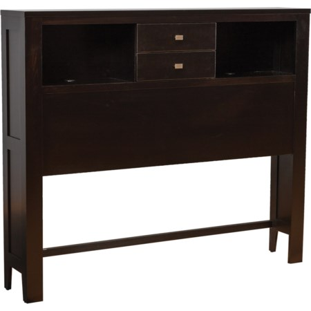 Queen Headboard with 2 Drawers