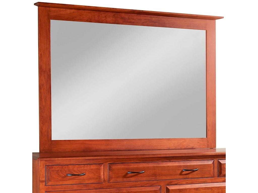 Daniel's Amish SimplicityTall Medium Mirror