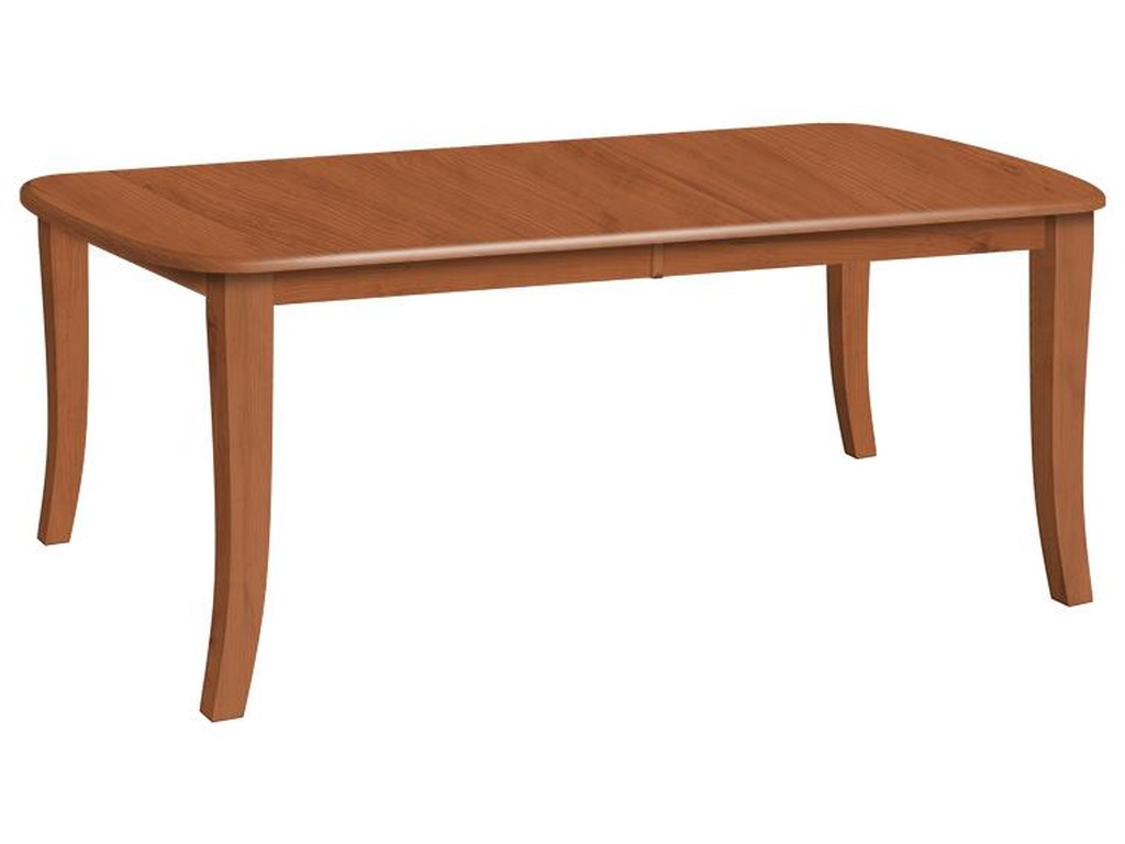 Daniel's Amish LegCustomizable Solid Wood Dining Table
