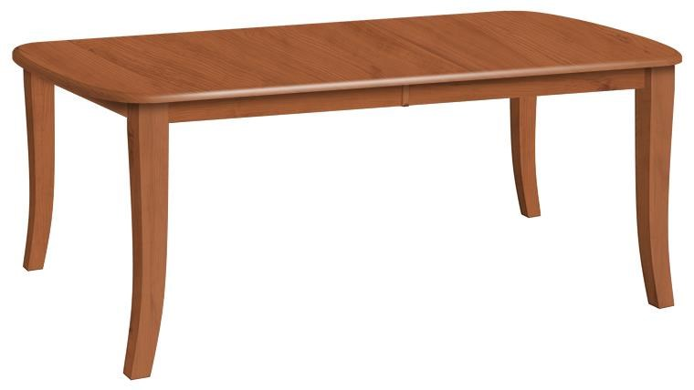 Tables Customizable Solid Wood Millsdale Rectangular Dining Table With Legs  By Danielu0027s Amish