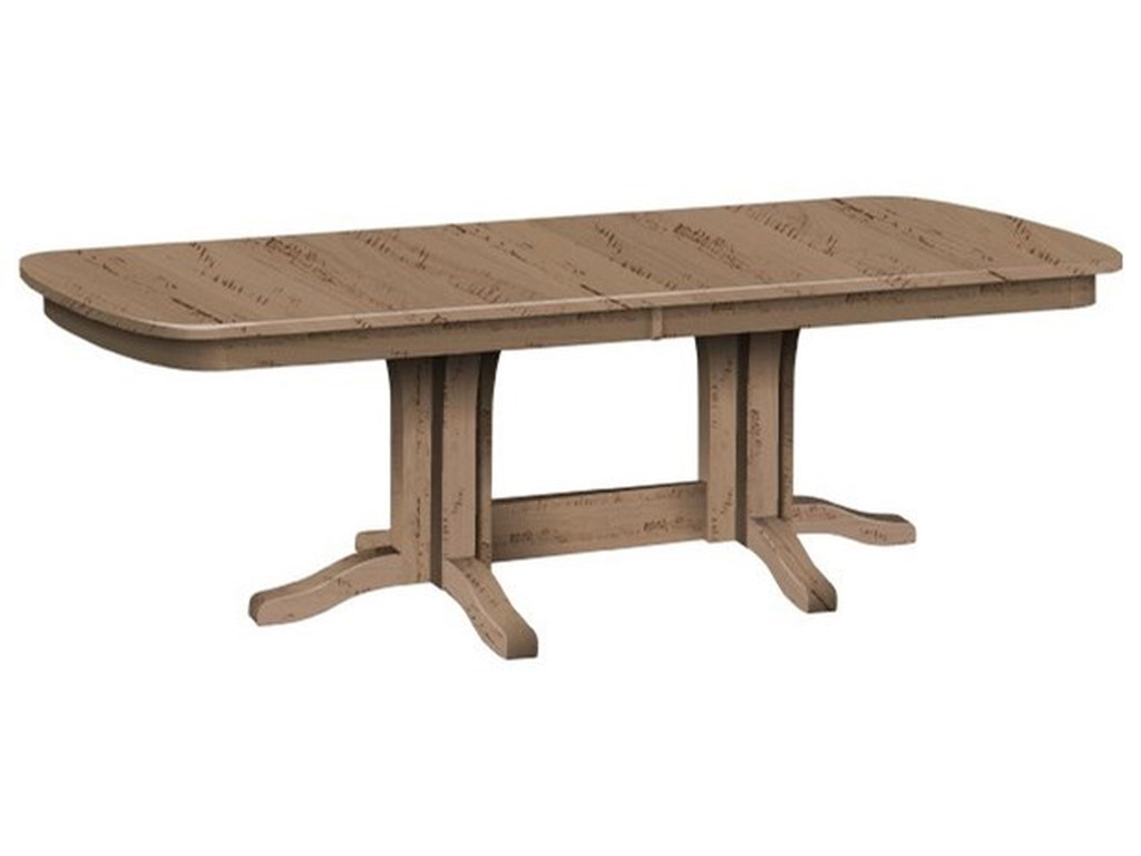 Daniel's Amish MillsdaleCustomizable Solid Wood Millsdale Table