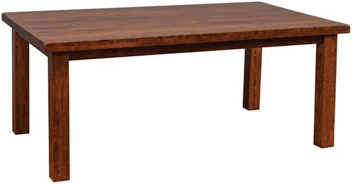 Daniel's Amish Tables Customizable Westchester Dining Table