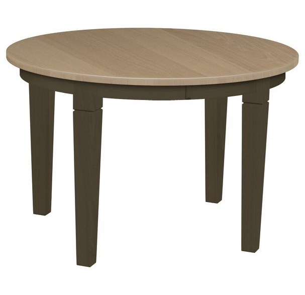 Daniels amish tables oval leg table with 1 12 self storing leaf daniels amish tablesoval leg table watchthetrailerfo