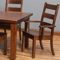 Daniel's Amish Westchester DACustomizable Dining Arm Chair