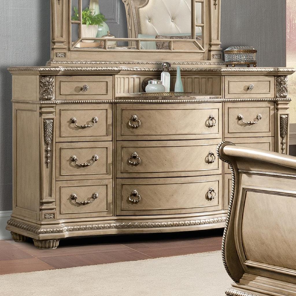 Davis International Bedroom Furniture Bow Front Dresser Curved Bestdressers 2017