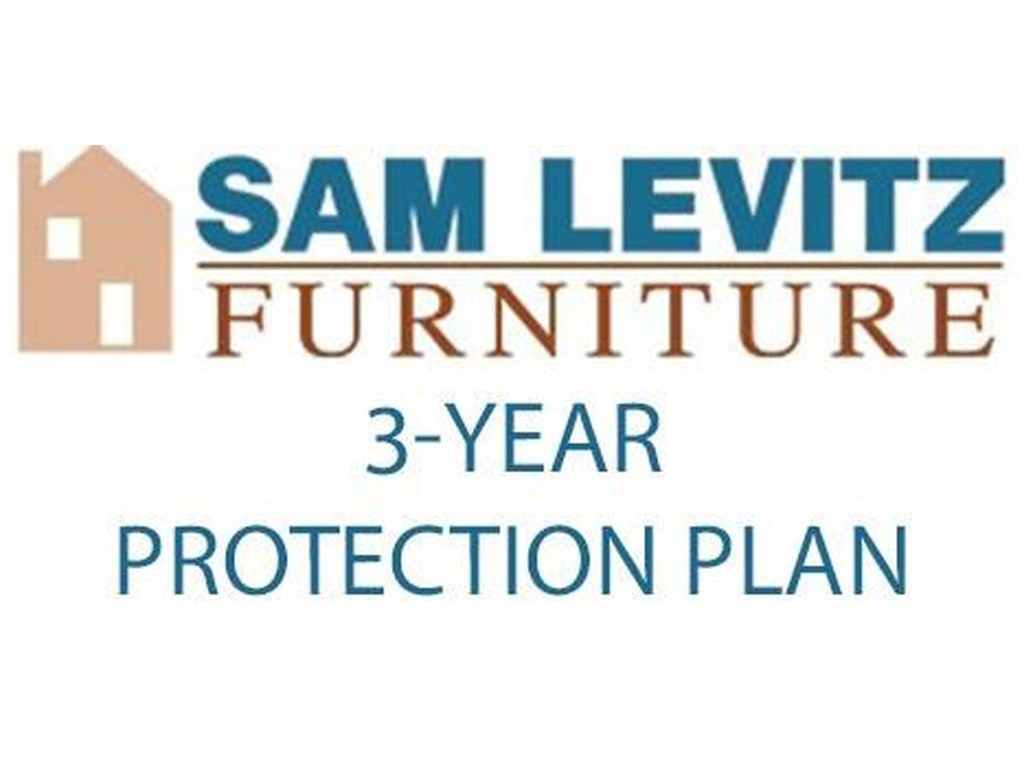 Sam Levitz Premium Protection Plan$7500-$9999 3 Year Protection Plan