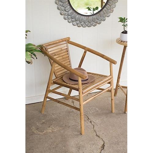 Rotmans Choice Accessories Bamboo Arm Chair