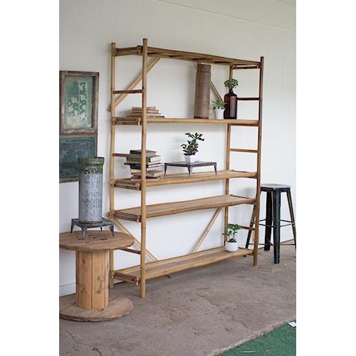 Rotmans Choice Accessories Bamboo Display Shelf