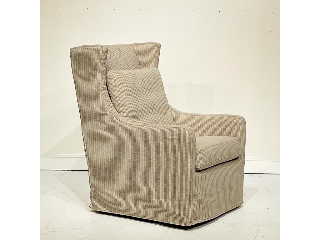 Dealer Brand Artisan Home UpholsterySwivel Chair