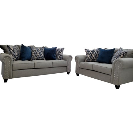 2pc Sofa Love