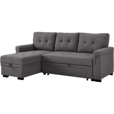 Reversible Sleeper Sofa w Storage