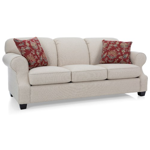 Decor-Rest 2000 Sofa with Rolled Arms