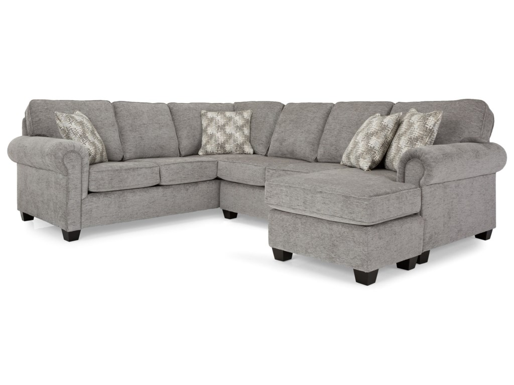 Decor-Rest 2006 Sectional SeriesSectional with Chaise