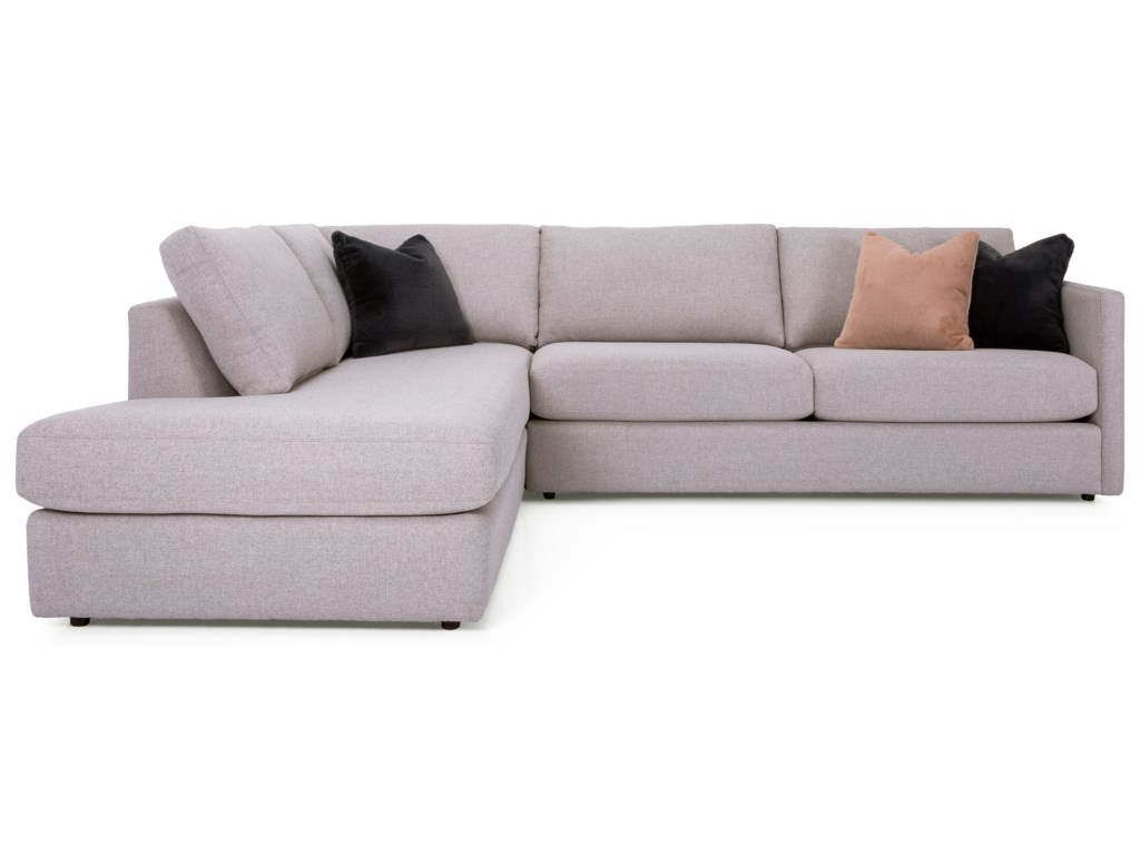 Taelor Designs 2068Sectional with Chaise
